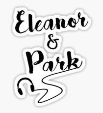 Eleanor and Park Watercolor Sticker