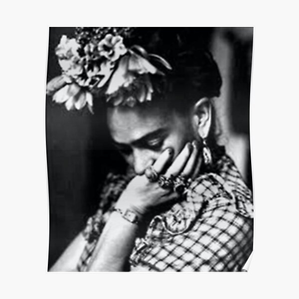 Póster Frida Khalo Póster