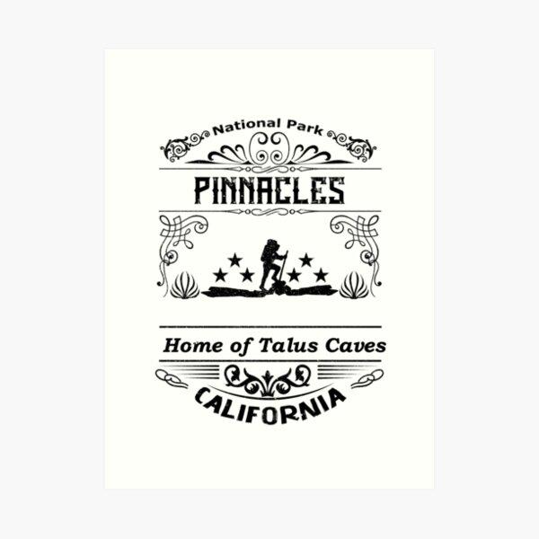 Pinnacles National Park California Art Print