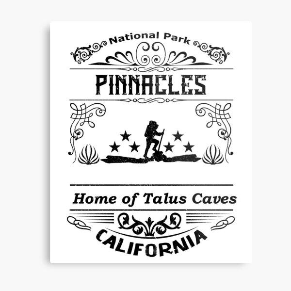 Pinnacles National Park California Metal Print