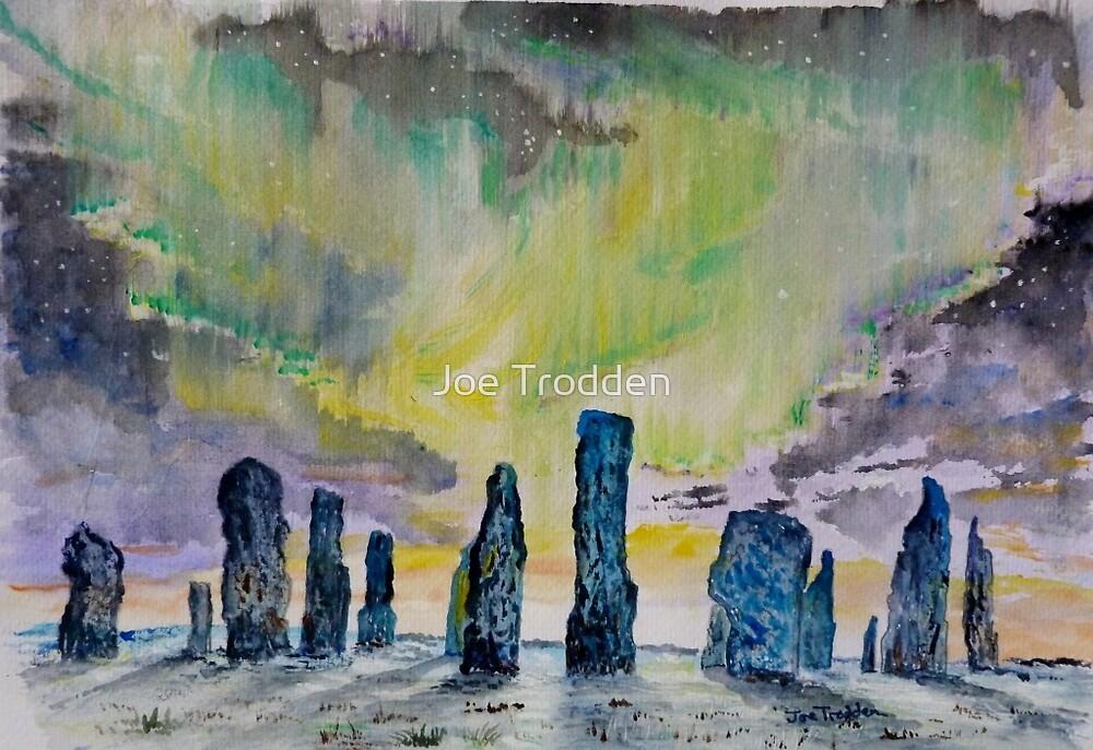 Winter Solstice at Callanish stone circle. by Joe Trodden
