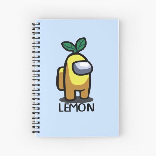 LEMON design from Among Us Spiral Notebook