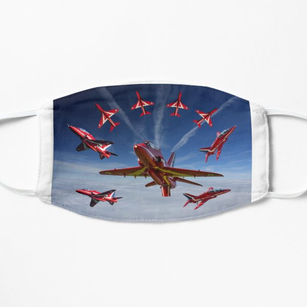 The RAF Red Arrows Flat Mask