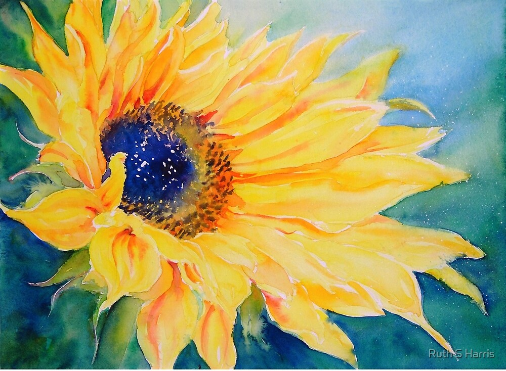 Sunburst #2 by Ruth S Harris