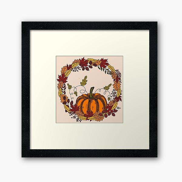 Autumn love Lámina enmarcada