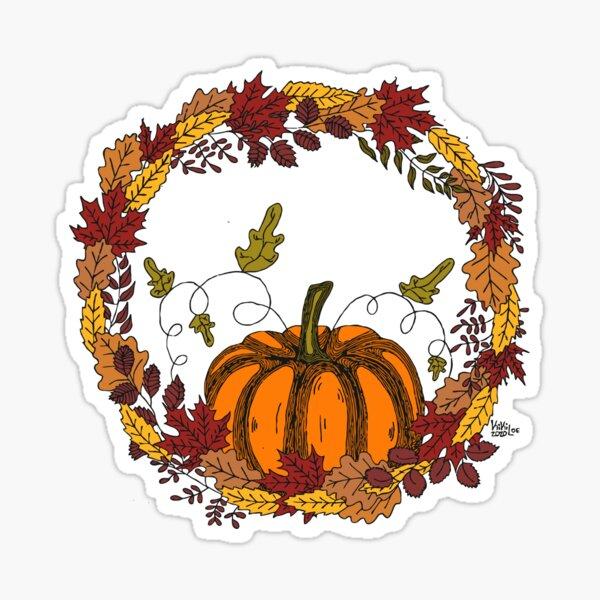 Autumn love Pegatina