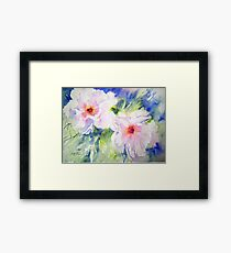 Peony Perfection Framed Print