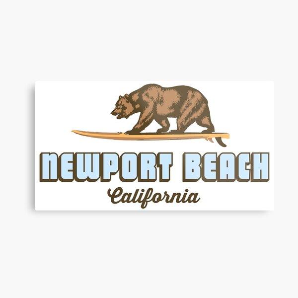Newport Beach - California. Metal Print