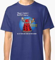 Timey Wimey Puppet Show Classic T-Shirt