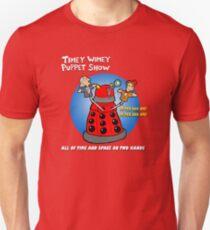 Timey Wimey Puppet Show T-Shirt