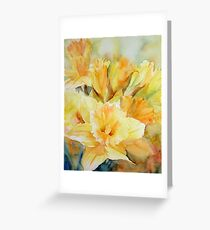Distilled Sunlight Greeting Card