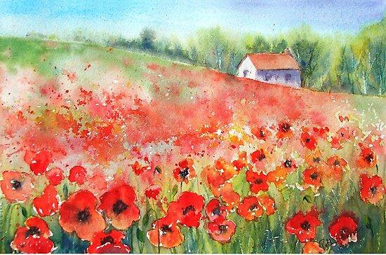 Scarlet Carpet by Ruth S Harris