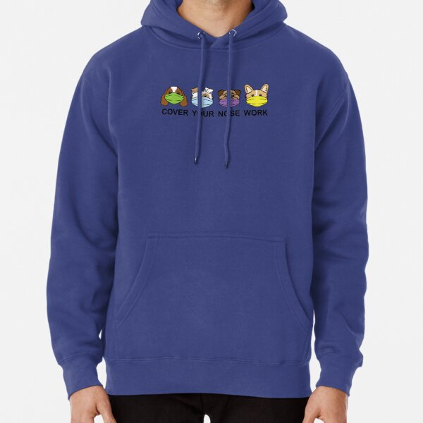 Cover Your Nose Work 2A - Clothing Pullover Hoodie