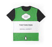 The Thin Man Book Cover tee Graphic T-Shirt