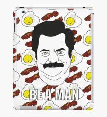 Ron Swanson - Eggs & Bacon iPad Case/Skin