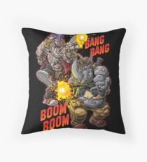 R&B RUMBLE Throw Pillow