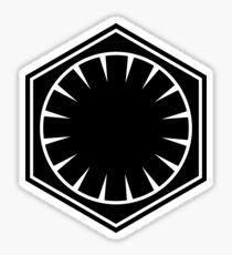 First Order Logo Sticker