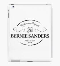 Vegetarians  Support Sanders iPad Case/Skin