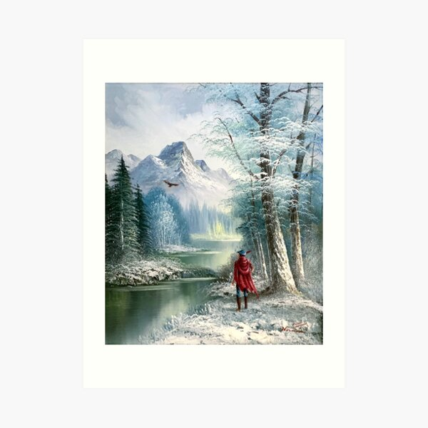 King Graham and Cedric on a Journey Art Print