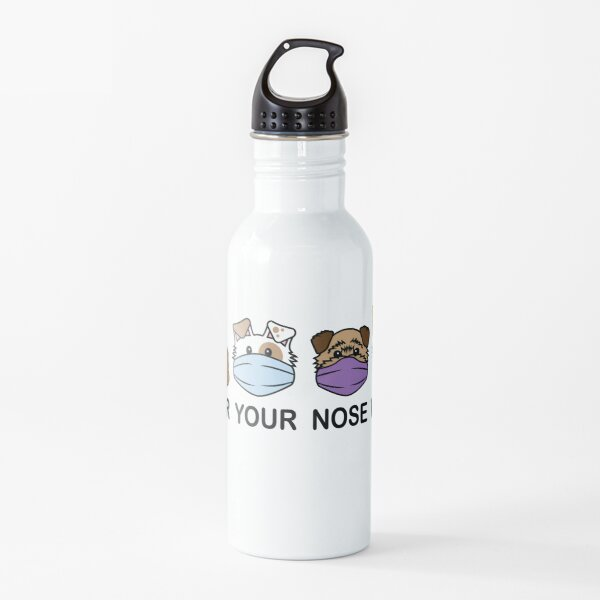 Cover Your Nose Work 2A - Fun Stuff Water Bottle