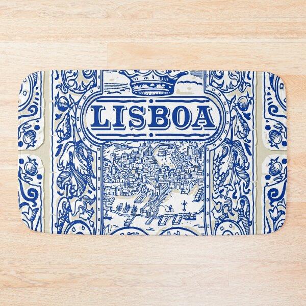 Azulejo Lisbon Azulejos Lisboa Bath Mat