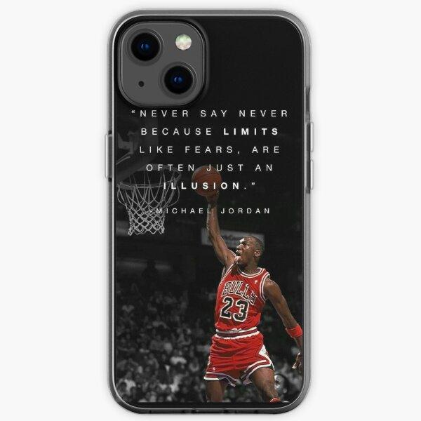 Jordan Quotes iPhone Soft Case