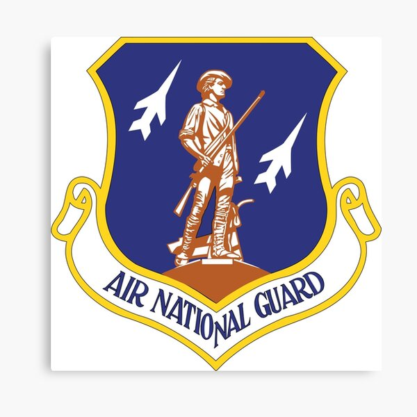 Emblem of the United States Air National Guard  Canvas Print