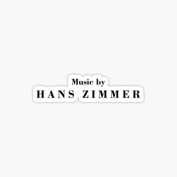 Music by Hans Zimmer Sticker