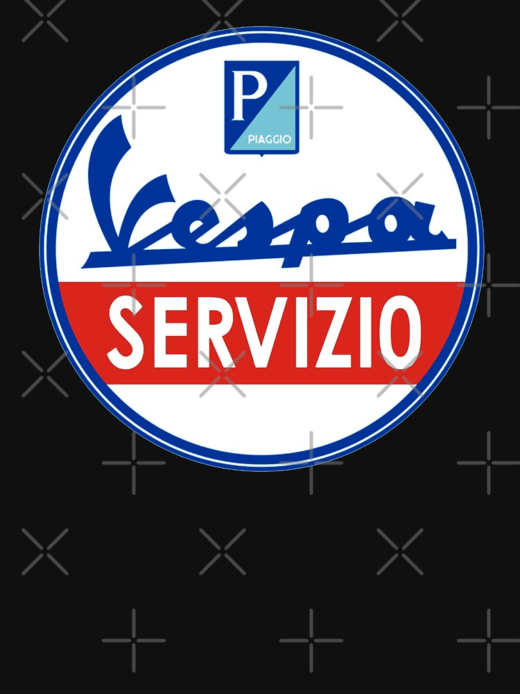 ITALIAN SCOOTER Service sign by midcenturydave