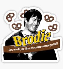 Brodie's Chocolate Covered Pretzels Sticker