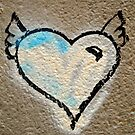 Grafitti winged heart by sledgehammer