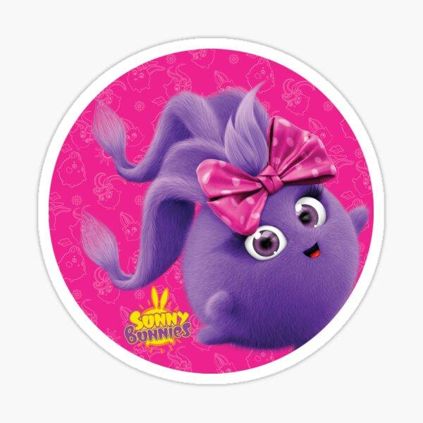 Sunny Bunnies - Iris (Pink Circle) Sticker