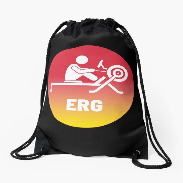 Sunset Erg Drawstring Bag