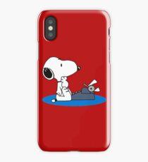 Cartoon Snoopy iPhone Case/Skin