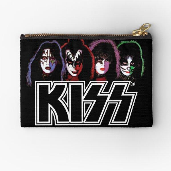 Four Faces KISS Logo #3 Zipper Pouch