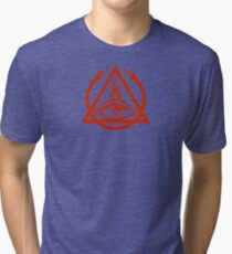 The Order of the Triad - The Venture Brothers Tri-blend T-Shirt