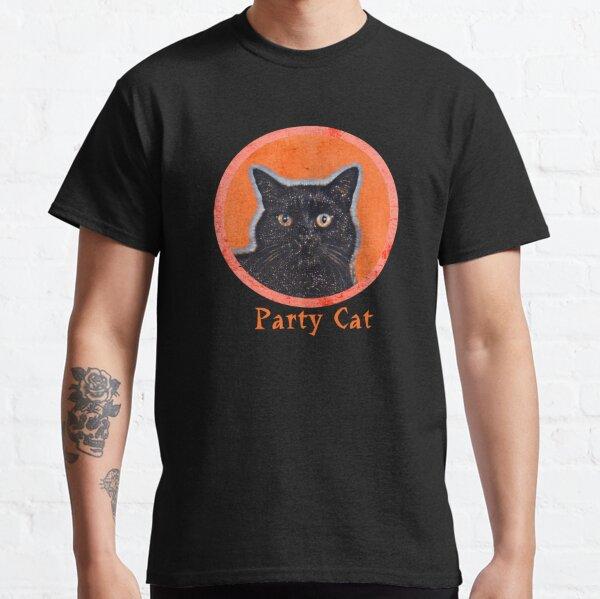 Cat party cat Classic T-Shirt