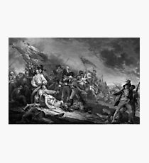 The Battle of Bunker Hill Photographic Print