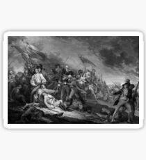 The Battle of Bunker Hill Sticker