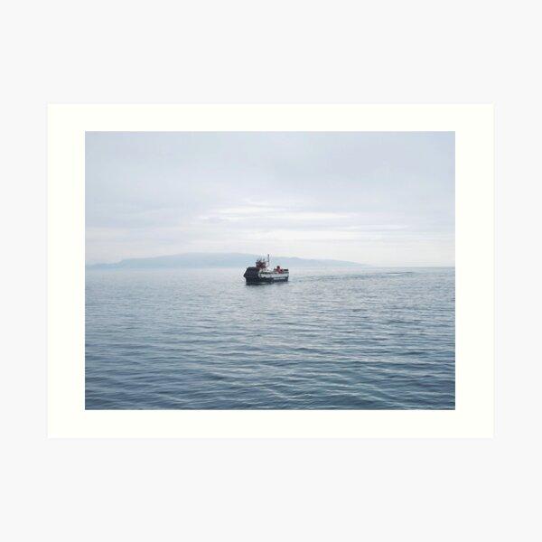 Tobermory Ferry Art Print