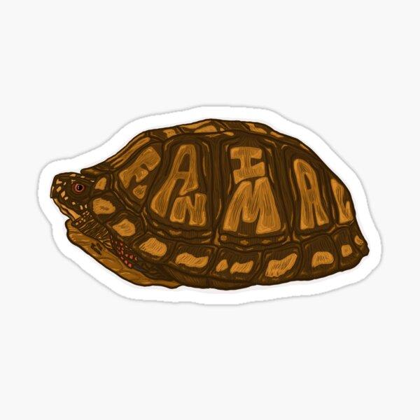 Fanimal Eastern Box Turtle Sticker