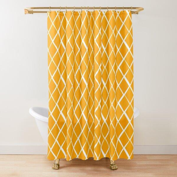 Diamonds are forever - sunflower Shower Curtain