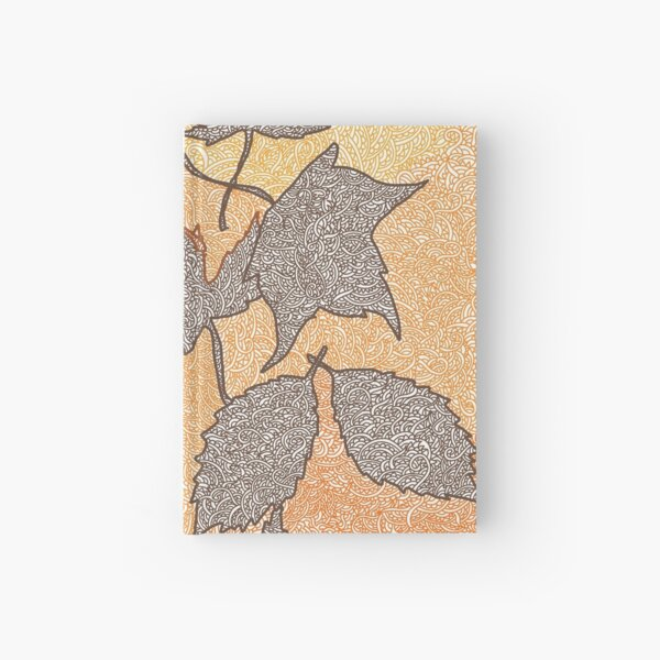 Autumn Leaves Hardcover Journal