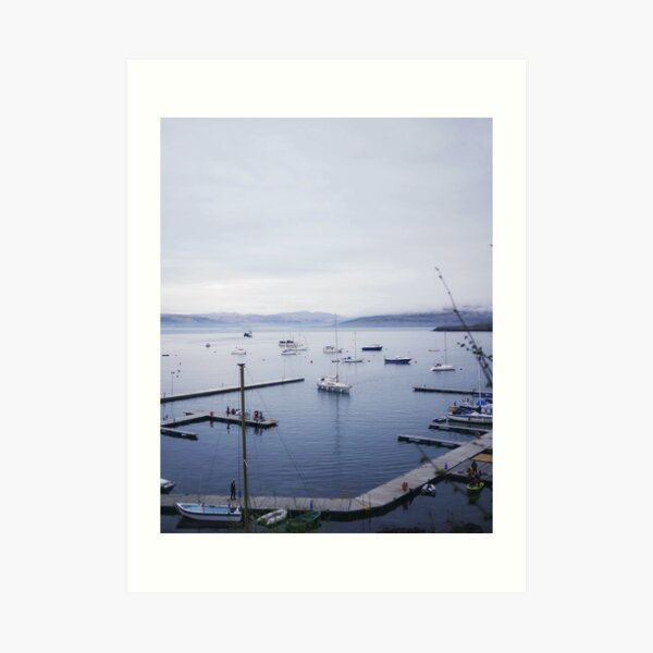 Tobermory Harbour Art Print