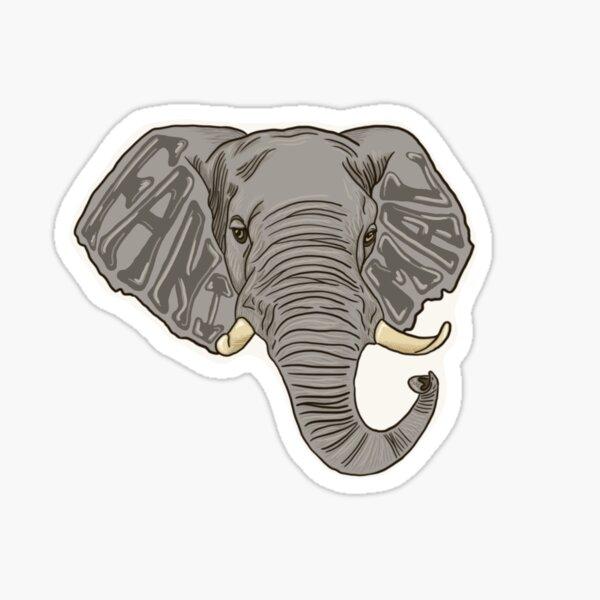 Fanimal Elephant Design Sticker