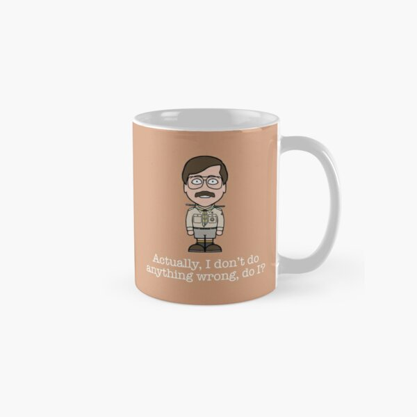 Pat from Ghosts Classic Mug