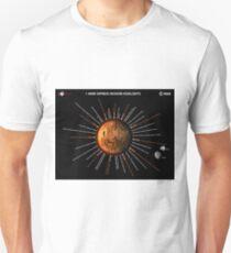 Mars Express Timeline Infographic Unisex T-Shirt