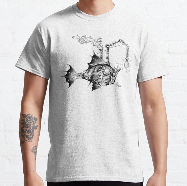 Pescado Steampunk Camiseta clásica