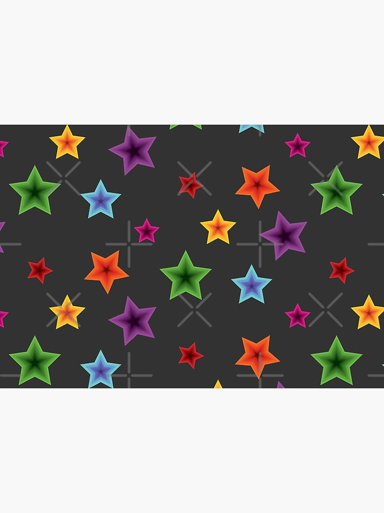 Psychedelic Stars by DaniDoesDesigns