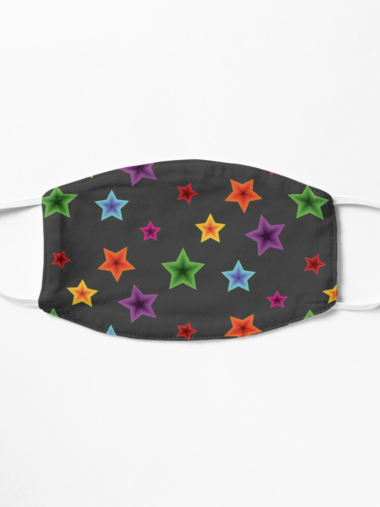 Alternate view of Psychedelic Stars Mask